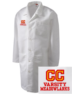 Clay Central School Meadowlarks Full-Length Lab Coat