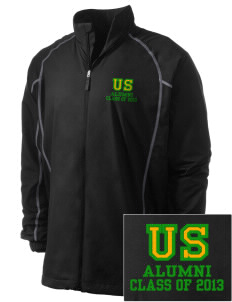 Union Street Elementary School Mex Dons Embroidered Men's Nike Golf Full Zip Wind Jacket