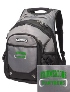 Fairmeadows Elementary School Panthers Embroidered OGIO Fugitive Backpack