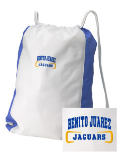 Benito Juarez Elementary School Jaguars Embroidered Holloway Home and Away Cinch Bag