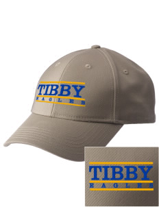 Tibby Elementary School Eagles  Embroidered New Era Adjustable Structured Cap