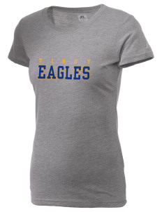 Tibby Elementary School Eagles  Russell Women's Campus T-Shirt