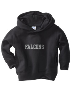 Battle Elementary School Falcons  Toddler Fleece Hooded Sweatshirt with Pockets