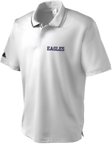 Maywood Baptist Pilgrim School Eagles adidas Men's ClimaLite Athletic Polo