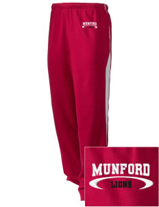 Munford High School Lions Embroidered Holloway Men's Pivot Warm Up Pants