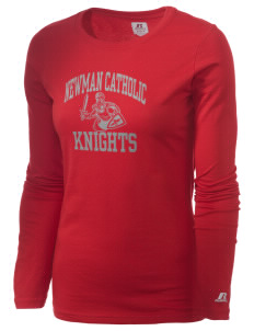 Newman Catholic School Knights  Russell Women's Long Sleeve Campus T-Shirt