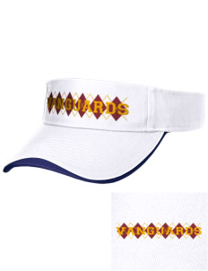 El Modena High School Vanguards Embroidered Binding Visor