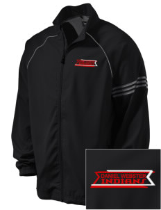 Daniel Webster High School Indians Embroidered adidas Men's ClimaProof Jacket