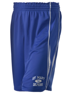 "Saint Mary Elementary School Dolphins Holloway Women's Piketon Short, 8"" Inseam"