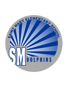 Saint Mary Elementary School Dolphins Sticker