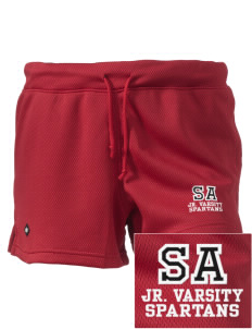 "Saint Anne's School Spartans Embroidered Holloway Women's Balance Shorts, 3"" Inseam"