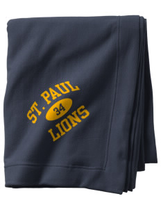 Saint Paul School Lions  Sweatshirt Blanket