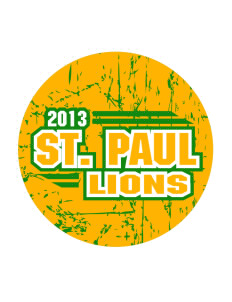 Saint Paul School Lions Sticker