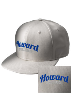 Howard Elementary School Bulldogs  Embroidered New Era Flat Bill Snapback Cap