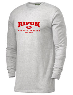 Ripon High School Indians Alternative Men's 4.4 oz. Long-Sleeve T-Shirt