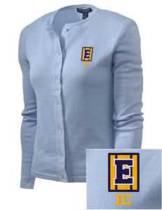 Immaculate Conception School Eagles Embroidered Women's Cardigan Sweater