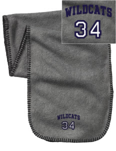 St. Nicholas of Tolentine High School Wildcats Embroidered Fleece Scarf