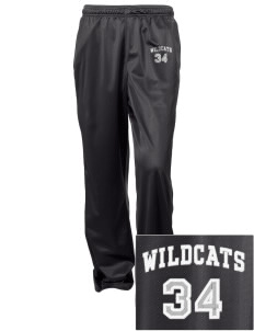 St. Nicholas of Tolentine High School Wildcats Embroidered Women's Tricot Track Pants