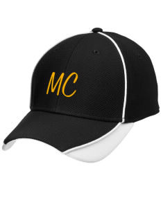Manteca Christian School Eagles Embroidered New Era Contrast Piped Performance Cap