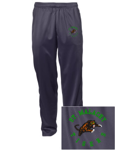 Saint Malachy Elementary School Tigers Embroidered Men's Tricot Track Pants