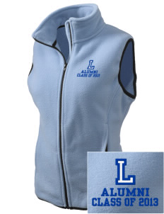 Lincoln Elementary School Lions Embroidered Women's Fleece Vest