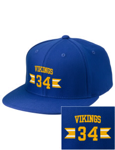 Saint Thomas Of Villanova School Vikings Embroidered Diamond Series Fitted Cap