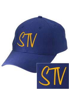 Saint Thomas Of Villanova School Vikings Embroidered Low-Profile Cap