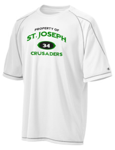 St. Joseph School Crusaders Champion Men's 4.1 oz Double Dry Odor Resistance T-Shirt