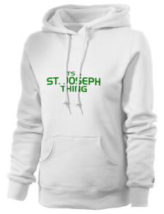 St. Joseph School Crusaders Russell Women's Pro Cotton Fleece Hooded Sweatshirt