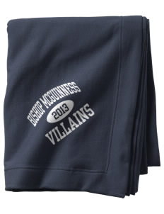 Bishop McGuinness Catholic High School Villains  Sweatshirt Blanket