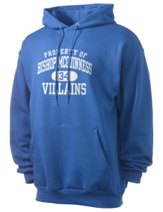 Bishop McGuinness Catholic High School Villains Men's 7.8 oz Lightweight Hooded Sweatshirt