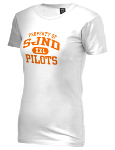 Saint Joseph Notre Dame High School Pilots Alternative Women's Basic Crew T-Shirt