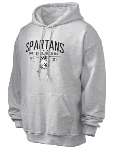 Saint Philip Neri School Spartans Ultra Blend 50/50 Hooded Sweatshirt