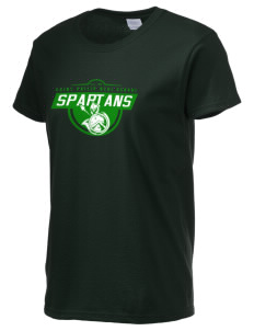Saint Philip Neri School Spartans Women's 6.1 oz Ultra Cotton T-Shirt