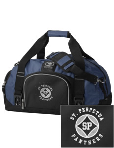 St. Perpetua Catholic School Panthers  Embroidered OGIO Big Dome Duffel Bag