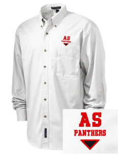 All Souls School Panthers Embroidered Tall Men's Twill Shirt