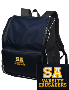 Saint Anthony School Crusaders Embroidered Holloway Backpack