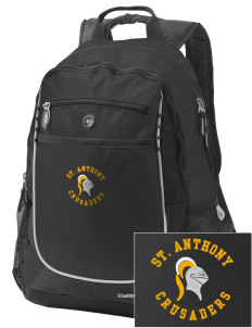 Saint Anthony School Crusaders Embroidered OGIO Carbon Backpack