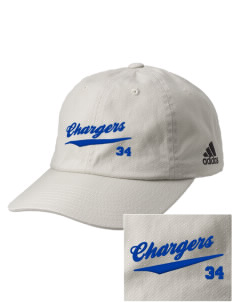 Saint Bede School Chargers Embroidered adidas Relaxed Cresting Cap