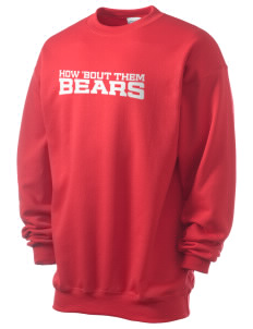 Our Lady Of Refuge School Bears Men's 7.8 oz Lightweight Crewneck Sweatshirt