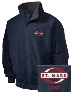 St. Mark School Lions Embroidered Holloway Men's Tall Jacket