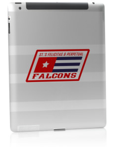 Saint's Felicitas & Perpetual School Falcons Apple iPad 2 Skin