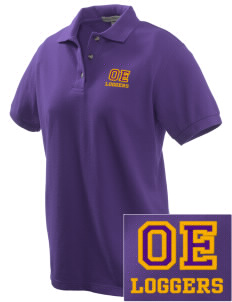 Onalaska Elementary Middle School Loggers Embroidered Women's Pique Polo
