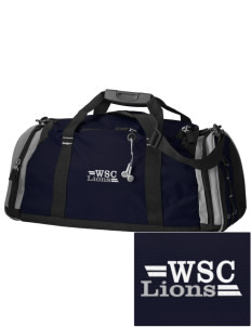 West Seattle Christian School Lions Embroidered OGIO All Terrain Duffel