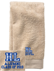Hope Lutheran School Eagles  Embroidered Zero Twist Resort Hand Towel