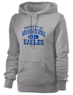 Santa Margarita Catholic High School Eagles Russell Women's Pro Cotton Fleece Hooded Sweatshirt