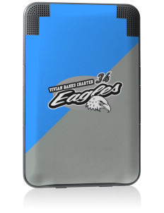 Vivian Banks Charter School Eagles Kindle Keyboard 3G Skin