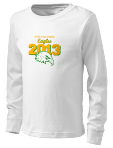 School Of The Epiphany Eagles  Kid's Long Sleeve T-Shirt