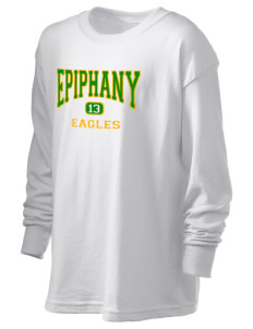 School Of The Epiphany Eagles Kid's 6.1 oz Long Sleeve Ultra Cotton T-Shirt
