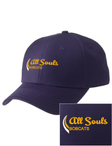 All Souls School Bobcats  Embroidered New Era Adjustable Structured Cap